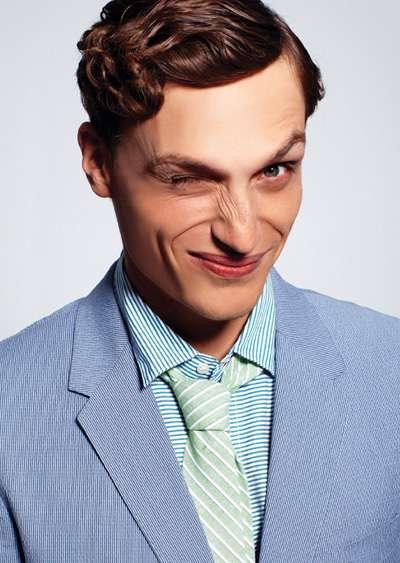 Smirking Menswear Editorials