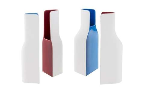 Abstract Bottle Vases
