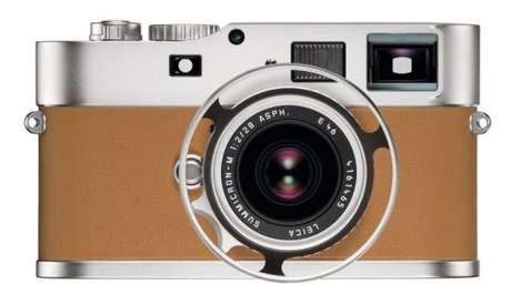 $50,000 Designer Cameras - The Leica M9-P Edition Hermès Series is Beautifully Handcrafted
