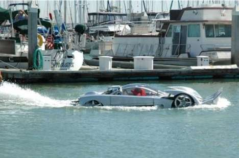 Project Sea Lion is the Fastest Car Functioning on Land and Sea