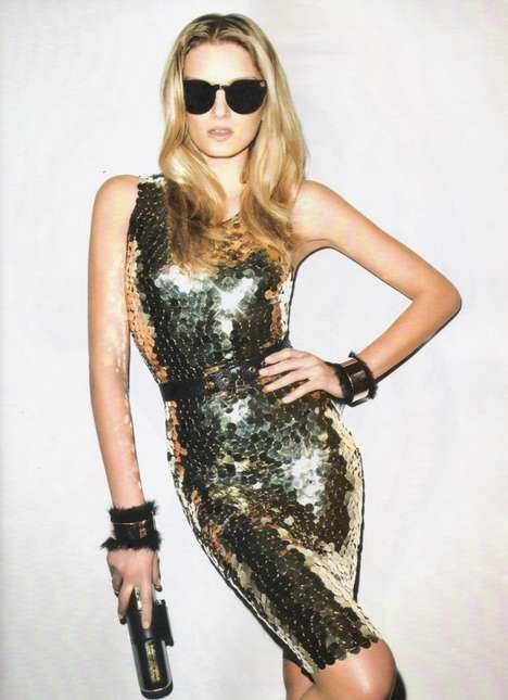 Sparkly Celeb-Swag Shoots