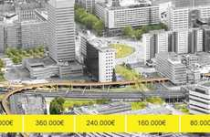 Crowd-Funded Footbridges - 'I Make Rotterdam' Uses Donations to Determine Luchtsingel's Length