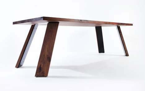 Modest Hardwood Furniture