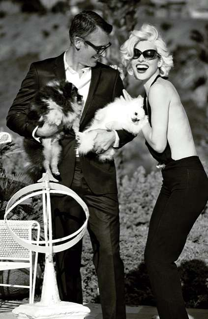 The Madame Figaro May 2012 Jovovich Photoshoot is Modeled After Monroe