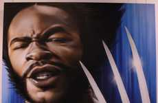Hip Hop Hero Portraits - The Alter Ego Exhibit Showcases Great Pieces by SmugOne