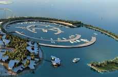 Extravagent Soccer Club Getaways - Real Madrid Resort Island Kicks Up the United Arab Emirates