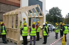 Printable DIY Dwellings - The Wikihouse is Assembled Using Design Mockups Found Online