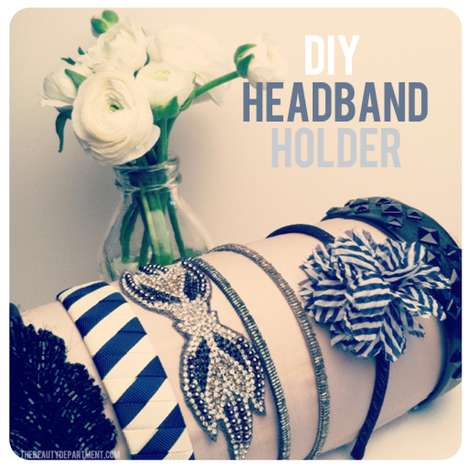 The Beauty Department Blog Shows How to Organize Headbands