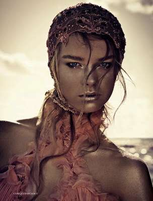 Moving Mermaid Editorials - The Elle UK 'The Tempest' Photoshoot Builds on a Siren Theme