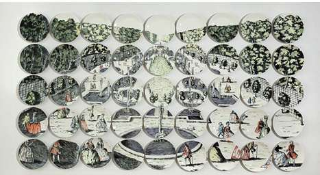 Puzzling Piecemeal Plate Portrayals