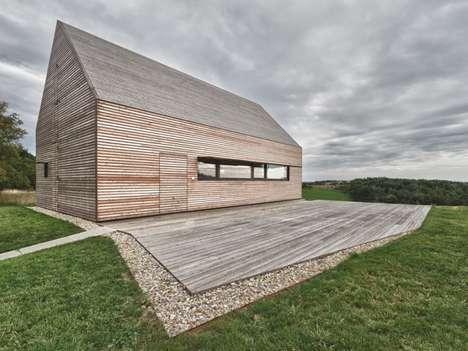 Modernized Barn Abodes