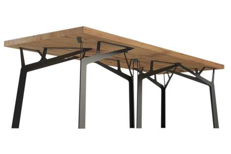 Forest-Shaped Furniture