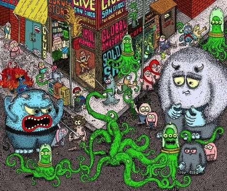 Alien Antagonist Artwork