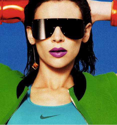 Athletic Technicolor Editorials