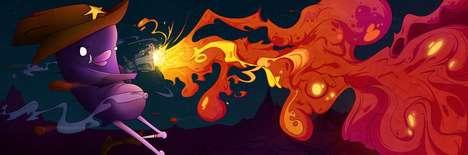 Raw Rage Illustrations