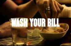 Dish-Doing Marketing Campaigns - Scotch-Brite: Wash your Bill Invites You to Do Your Dishes