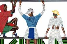 Mismatched Banner Campaigns - The Kenzo Spring/Summer Advertisements are Eclectic