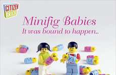 Building Block Tots - Citizen Brick's Minifig Babies Prove That LEGO Characters Mate
