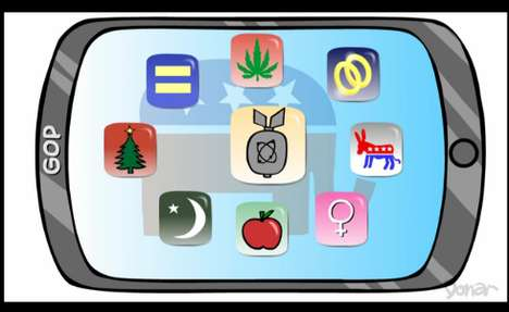 Republican-Mocking Mobile Apps