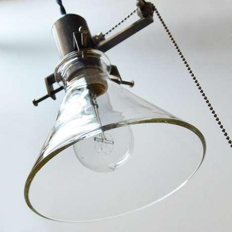 Minimalist Industrial Illuminators