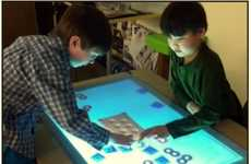 Affordable Touchscreen Tabletops - The Templeman Automation Playsurface is Interactive