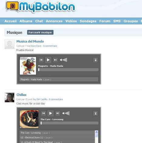 Multi-Lingual Social Media - Mybabilon.com Crashes Language Barriers