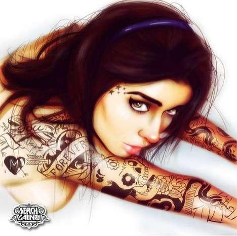 Badass Body Art Beauties