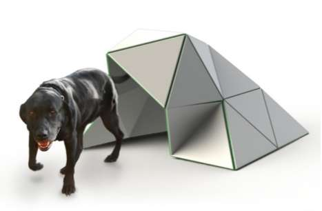 Geodesic Dog Houses