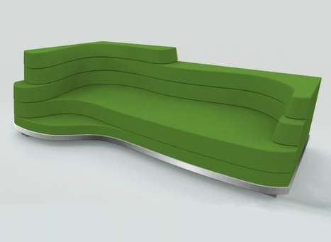 Layered Topographical Loungers