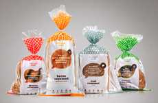 Chatty Bread Branding - Plenum Bread Packaging Introduces itself as Hearty and Healthy