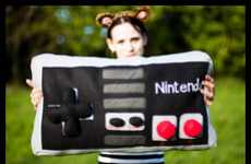 Retro Game Controller Cushions