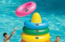 Oversized Poolside Games - Giant Ring Toss is a Larger-Than-Life Take on Aquatic Fun