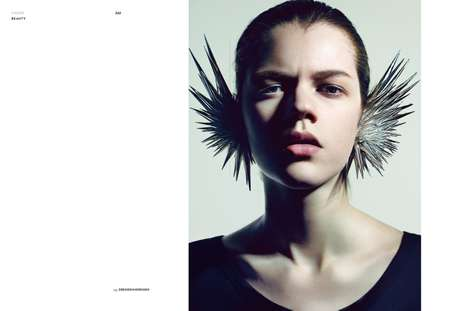 Futuristic Hairstyle Editorials