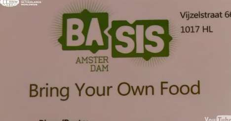 Bring-Your-Own-Food Bars - 'Basis' Restaurant in Amsterdam Lets Customers Feed Themselves