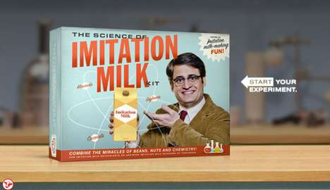 The 'Got Real Milk?' Advertisement is Playfully Scathing