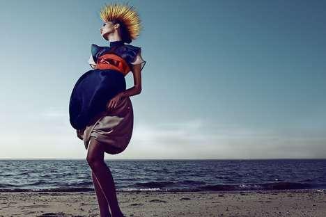 Exotic Bird-Inspired Fashion