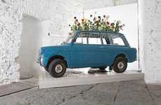Blossoming Car Installations