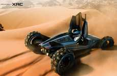 Life-Sized R/C Car Concepts - The Peugeot XRC is Designed for the World's Toughest Races