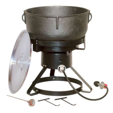 Colossal Cast Iron Cookers