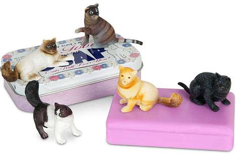 Feline-Inspired Bath Products