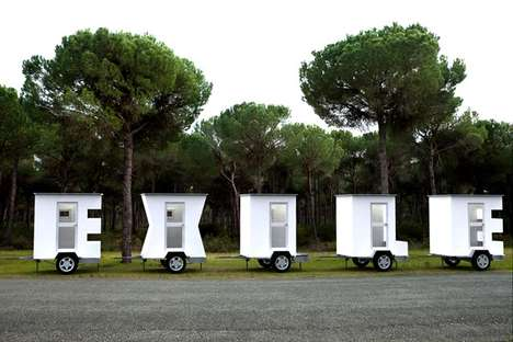 Alphabet-Inspired Abodes