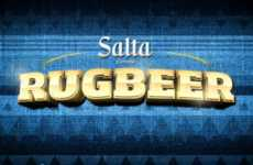 Odd Alcohol Rewarding Rituals - The Rugbeer Machine by Salta Beer Rewards Performance with Liquor