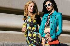 Vibrant Candid Captures - The Tommy Ton for Harper's Bazaar Korea Issue is Punchy