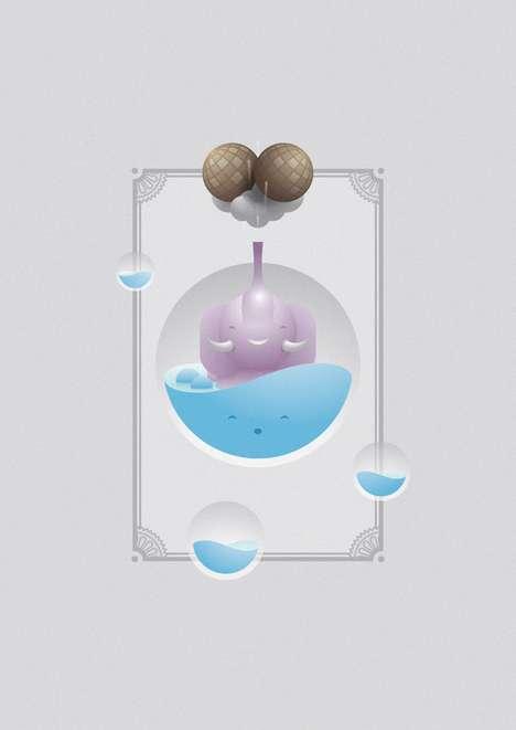 Adorable Aquatic Artwork