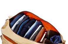 Compartmentalized Travel Totes - Travelteq Offers 'The Voyager' Purse for all Your Packing Needs