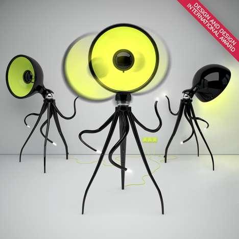 Terrifying Tentacle Lamps