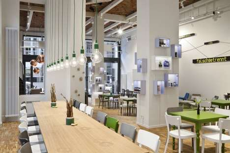 Creativity-Charged Cafes - BASE camp by Nest One is a Cutting-Edge Workspace