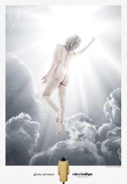 Heaven-Entering Grandparent Ads