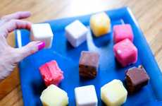 Cubed Ice Treats - Diana Hardeman's Tropical Sorbet Bites are Refreshingly Delicious