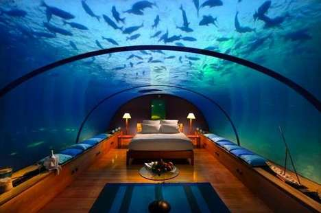 From Submerged Hotels to Maldives First Underwater Restaurant
